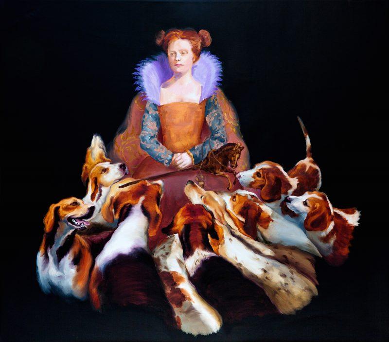 Die Gräfin mit den Hunden