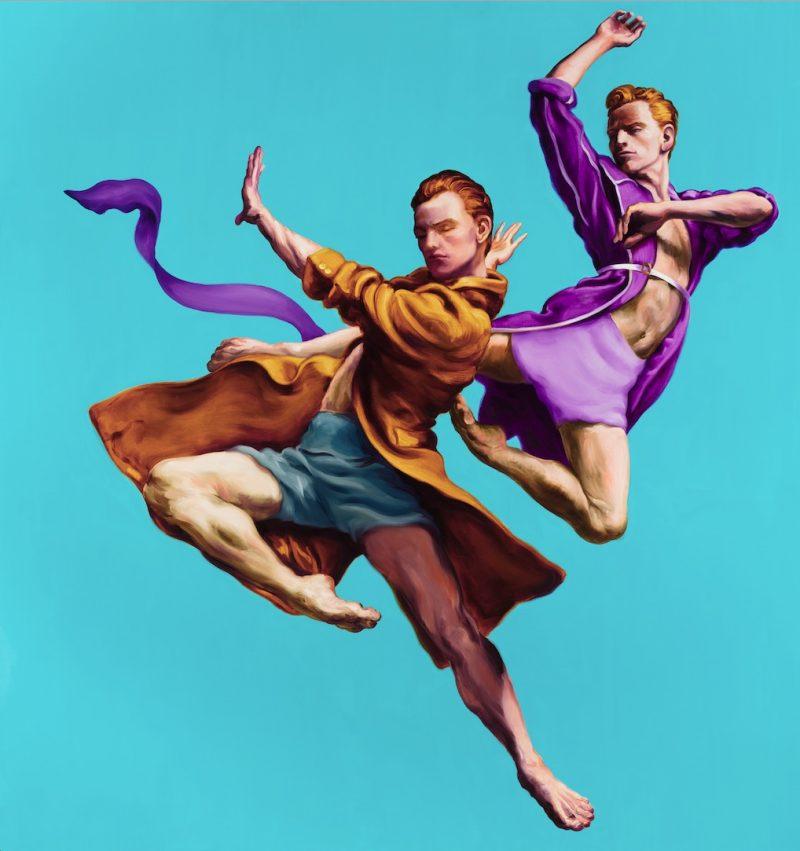 Zwei Tänzer